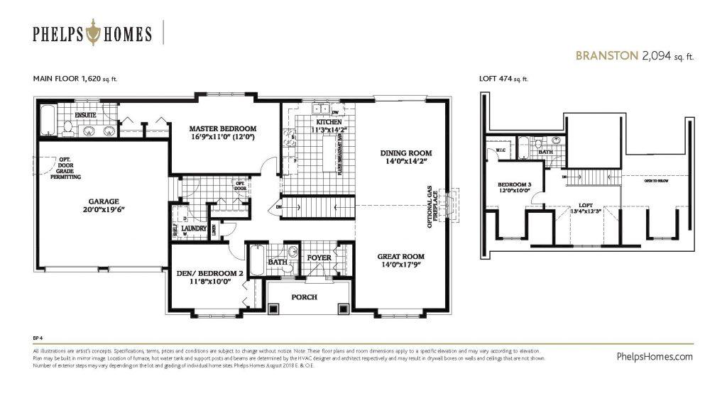 Branston Floorplan 2
