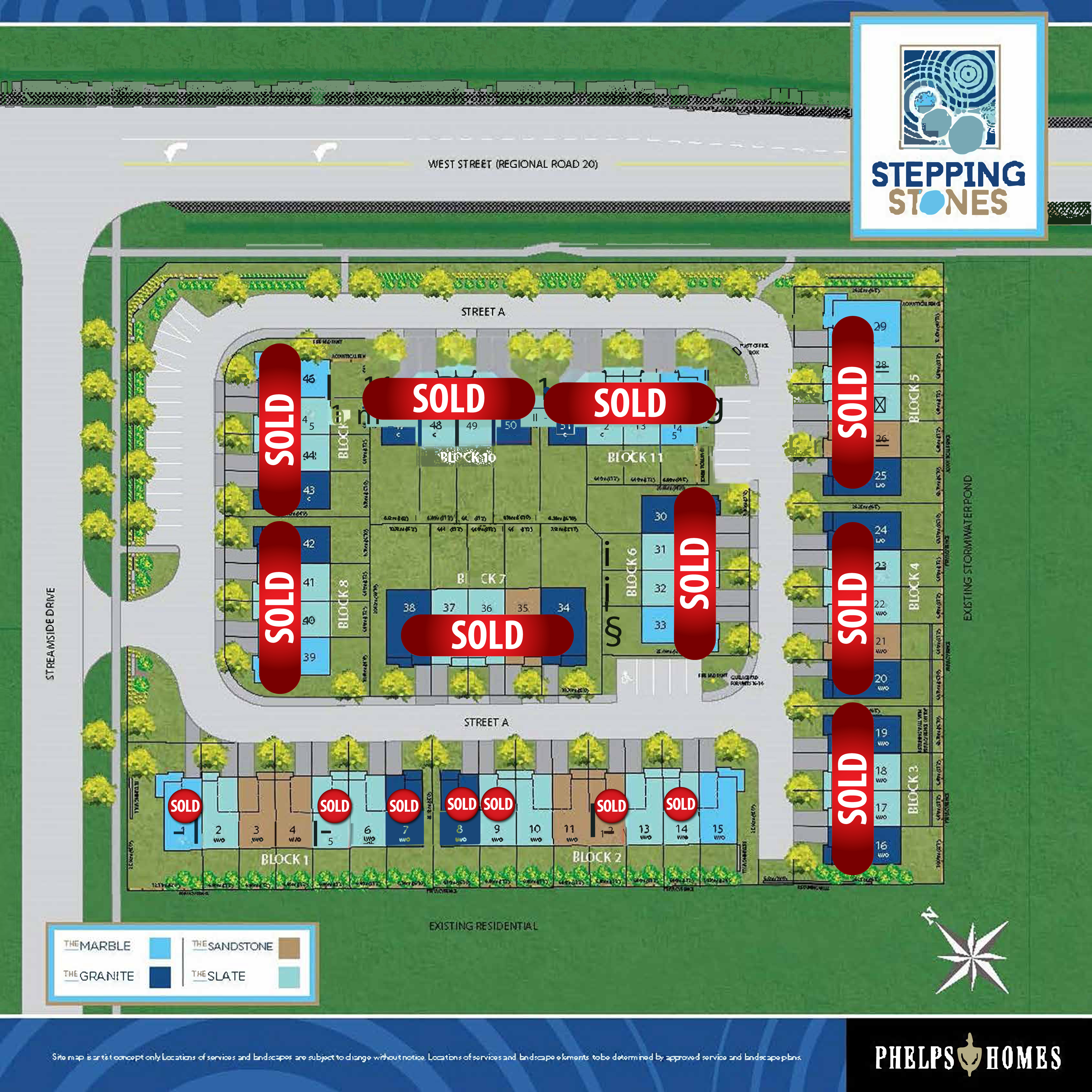 Stepping Stones Site Plan - 09.03