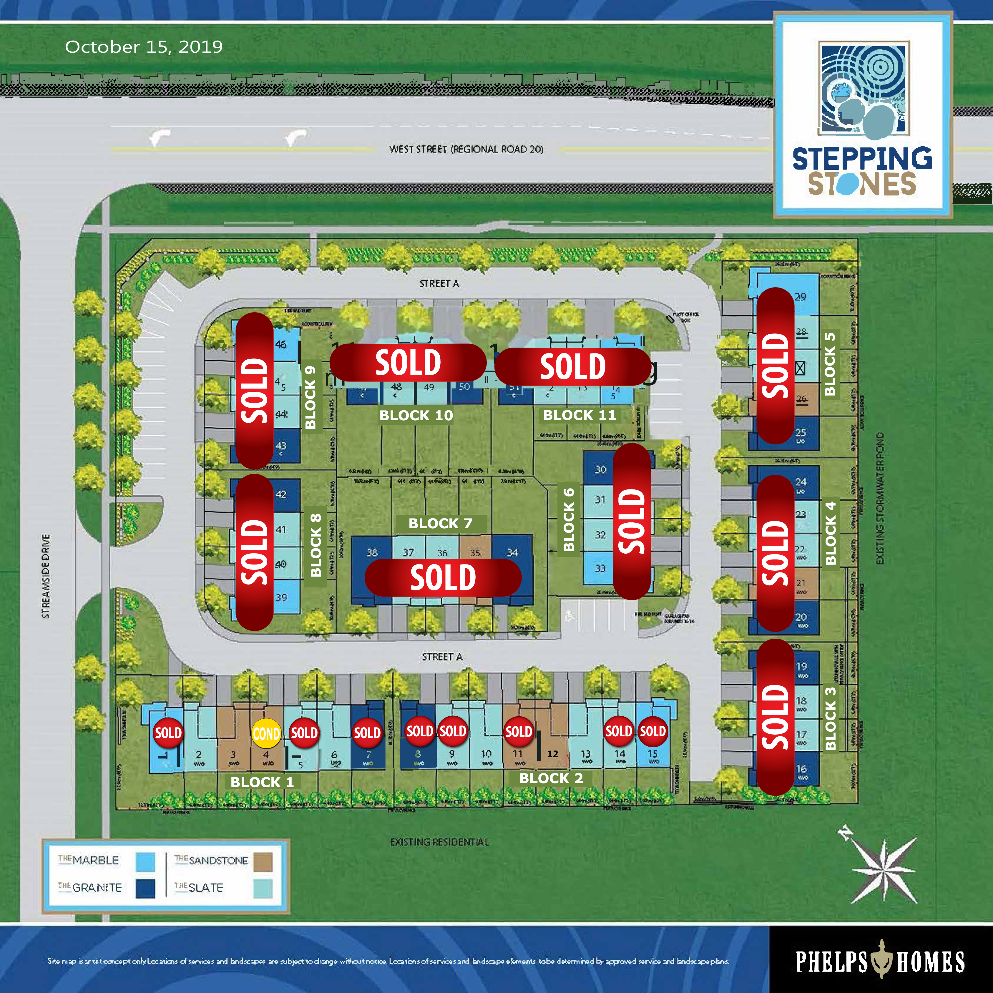 Stepping Stones Site Plan - 10.15