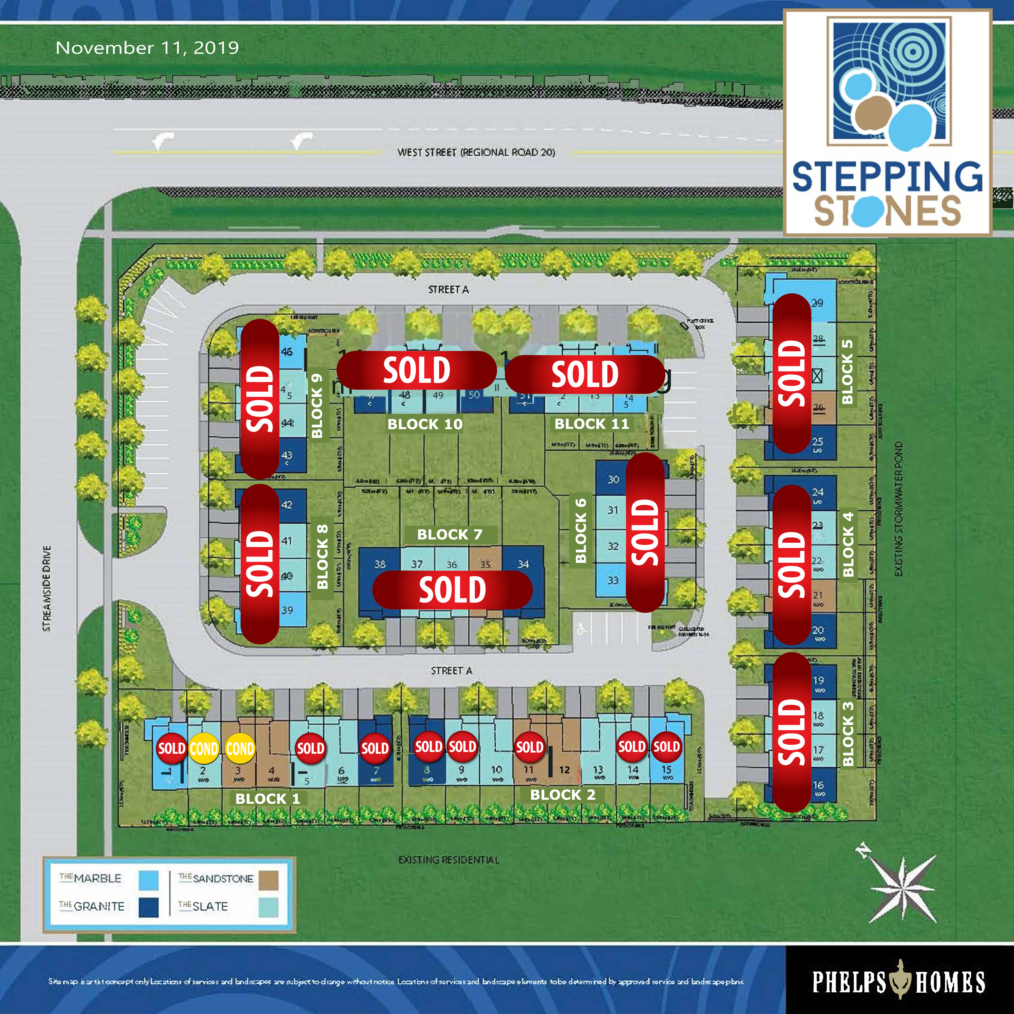 Stepping Stones Site Plan - 11.11