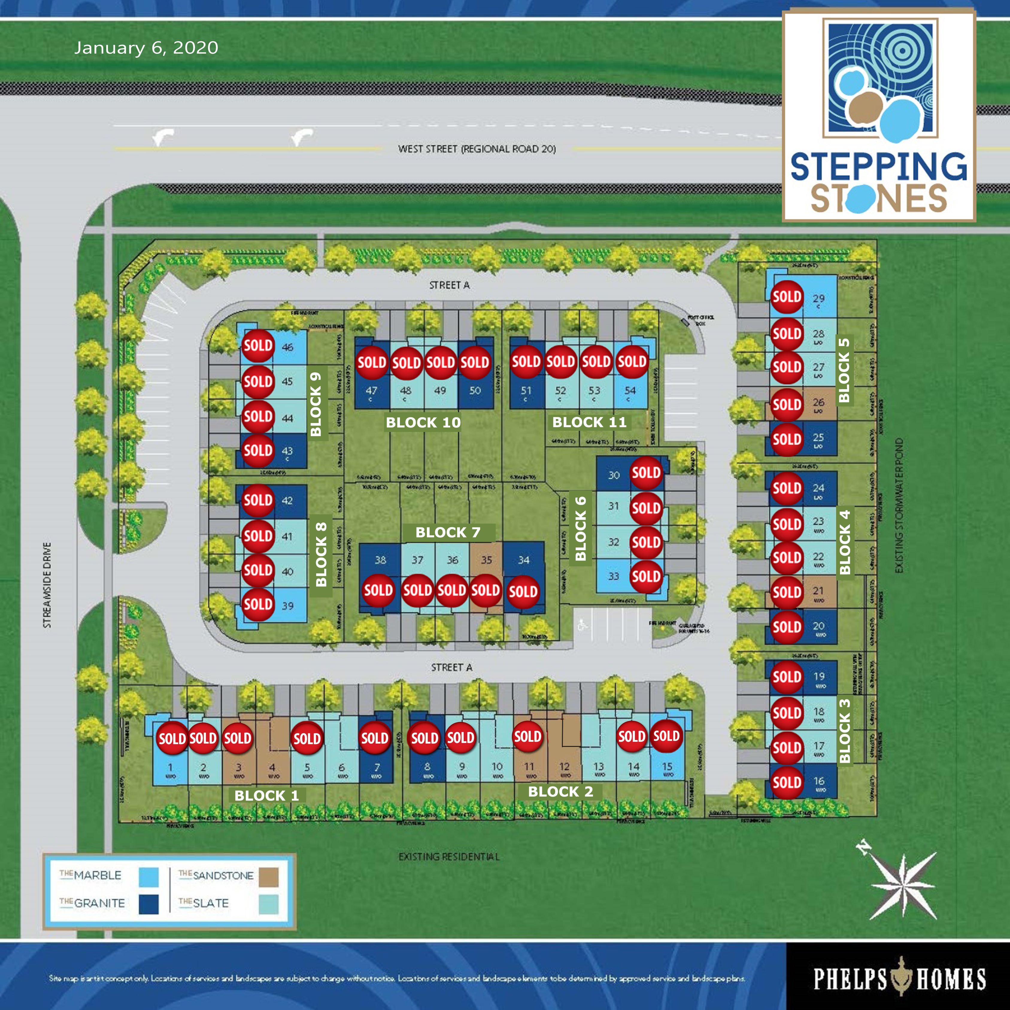 Stepping Stones Site Plan - 01.06