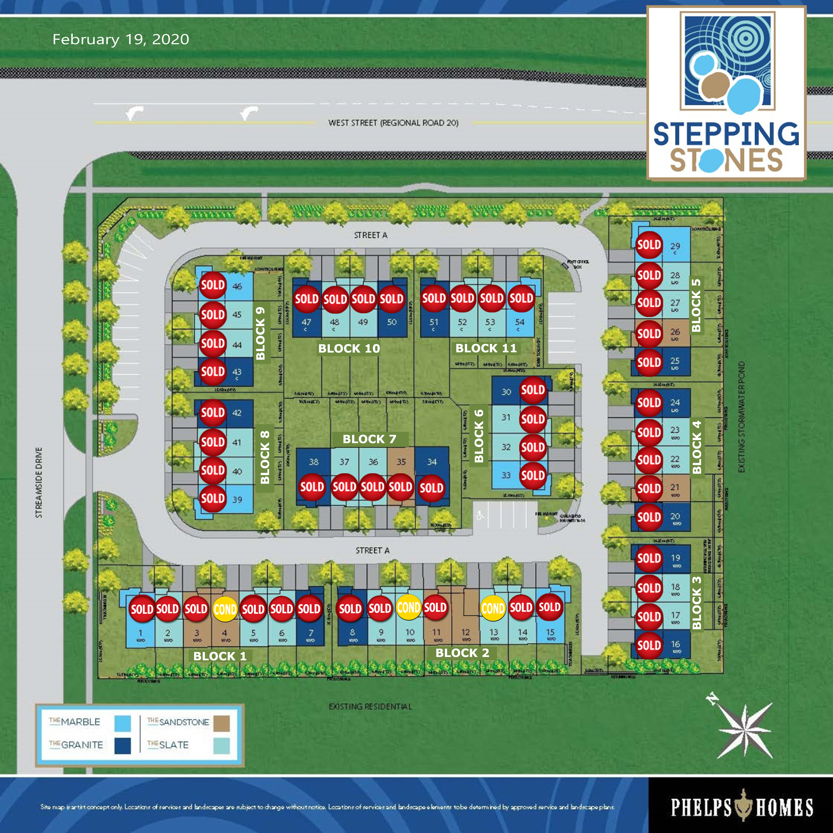 Stepping Stones Site Plan - 02.19