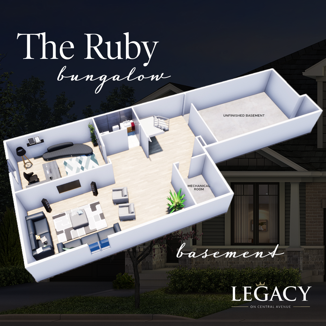 Ruby_Finished Basement Floor Plan